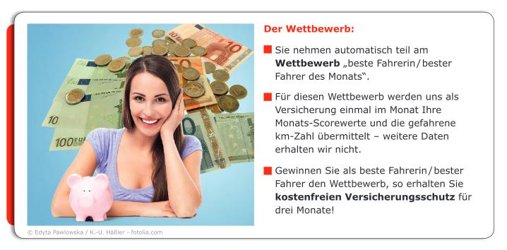 Gamification: Die Sparkasse erlässt der_dem sichersten Fahrer_in die Kosten. Quelle: Sparkasse (abgerufen am 30.12.2013)